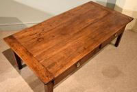 19th Century French Cherrywood Coffee Table (7 of 8)