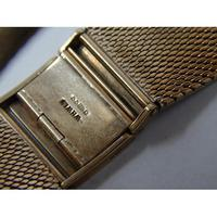 9ct Gold Gentleman's Wristwatch on 9ct Gold Bracelet by Marvin (4 of 7)