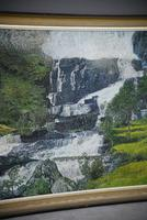 Large Waterfall Oil Painting (3 of 20)