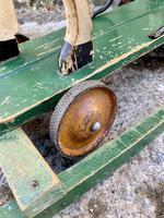 Antique Wooden Push Along Rocking Horse Toy (18 of 19)