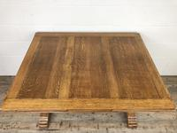 Early 20th Century Oak Draw Leaf Table (6 of 17)