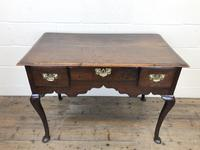 Antique Oak Lowboy Side Table (3 of 10)
