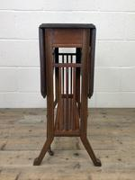 Antique Mahogany Inlaid Sutherland Side Table (3 of 9)