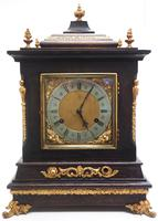 Amazing New Haven mantle clock 8 Day Westminster Chime Bracket Clock Very Rare (9 of 10)
