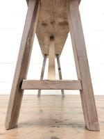 Pair of Antique Rustic Pine Benches (4 of 6)