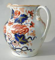 Antique Very Large Staffordshire Stone China Jug (2 of 12)