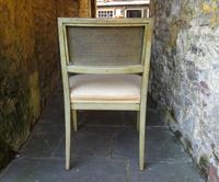 French Painted Regency Elbow Chair (6 of 9)