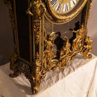 Massive Buele Mantle Clock Double Fusee (3 of 17)