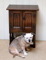 Oak Side Cabinet (9 of 9)