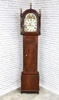 Painted Pine Cornish Longcase Clock (2 of 11)