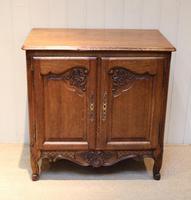 Vintage French Oak Side Cabinet (5 of 8)