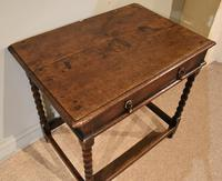 Chanrming 18th Century Oak Side Table (4 of 5)