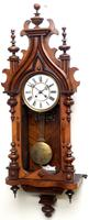 Wow! Antique German Spring Driven Striking 8-day Vienna Wall Clock by Peerless (5 of 12)