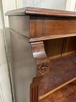 Mahogany Open Bookcase (8 of 11)