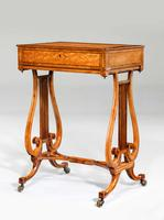 Late 18th Century Satinwood Work Table (4 of 4)