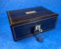 Victorian Coromandel Jewellery Box (7 of 11)