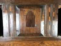 17th Century Welsh Oak Cwpwrdd Deuddarn (6 of 10)