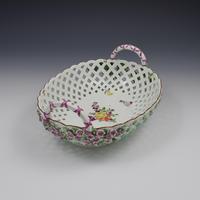 Fine Large Chelsea Red Anchor Porcelain Basket c.1750-1758 (11 of 18)