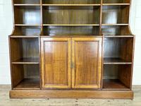 Large 19th Century Antique Oak Bookcase (2 of 11)