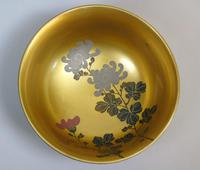 Beautiful Set of Three Japanese Lacquer Bowls (3 of 9)