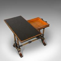 Antique Card Table, Ebonised, Games, Gillow & Co, Aesthetic Period c.1875 (7 of 12)