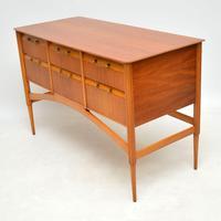 1950's Vintage Satinwood Sideboard (3 of 11)