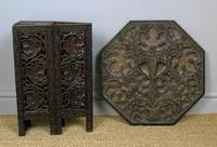 Anglo Indian Hand Carved Hardwood Table (4 of 6)