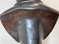 Classical Music Interest German Bronze Composer Ludwig Van Beethoven Bust Sculpture (18 of 25)