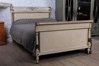 Lovely Original Painted French King Size Bed
