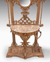 Elaborate Mid 19th Century Cast Iron Hall / Stick Stand (4 of 5)