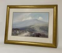 Original Dartmoor Watercolour by Frederick John Widgery (3 of 15)