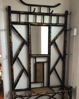 Victorian Japanese Inspired Bamboo Hall Stand c1880 (6 of 6)