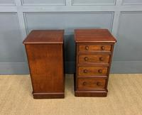 Pair of Victorian Mahogany Bedside Chests (5 of 16)