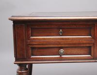 19th Century French Walnut Writing Table (9 of 13)
