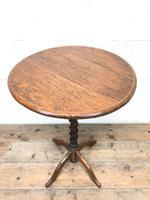 Early 20th Century Oak Side Table (2 of 6)