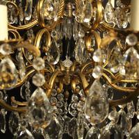 Italian Gilt & Crystal 21 Light Antique Chandelier (2 of 10)
