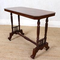 Library Desk Writing Table Mahogany 19th Century (12 of 13)