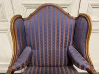 Comfortable French Wing Armchair (8 of 15)