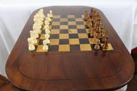 George IV Inlaid Mahogany Chess Table (9 of 13)