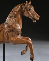 Antique Gustav Bayol Jumping Carousel Horse Late 19th Century (3 of 6)