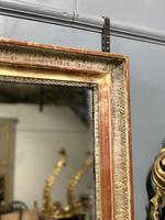 Large French landscape overmantle mirror (2 of 6)