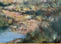Francois Badenhorst S.A - South African Bush Landscape Oil Painting (3 of 12)