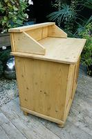A Rare, Old Pine Sideboard/ Cupboard/ Desk/ Baby Changing Unit (5 of 11)