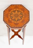 Quality Mahogany Inlaid Urn Stand (9 of 10)