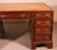 Fine Early 19 Century Partner Desk in Mahogany (2 of 10)