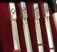 Set of Four Silver Bridge Propelling Pencils (3 of 4)