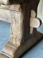Superb Rustic Large Bleached Oak Farmhouse Table with Extensions (18 of 36)