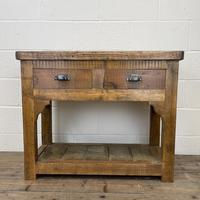 Rustic Wooden Sideboard with Two Drawers (2 of 10)