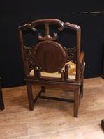 Pair Antique Chinese Armchairs Hardwood 19th Century Seat Chair (10 of 13)