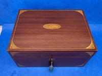 Edwardian Sheraton  Revival Mahogany Box (2 of 10)